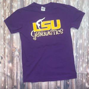 LSU gymnastics t-shirt